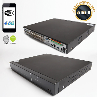 RAYDIN FOCUS-S16 16Kanal 5Mpx 1944P 2xHDD 5in1 DVR