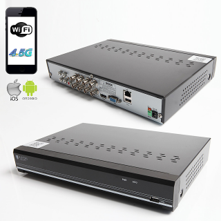 RAYDIN SONIC-K08 2Mpix, H264, 8Kanal Video, 4Kanal Ses, 1 HDD, 1080N, 3G Wifi, RaydinView 5in1 DVR